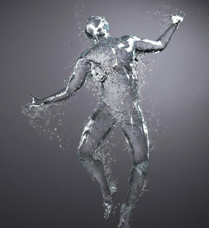 картинки воды в виде мужчины это вынужденные мера